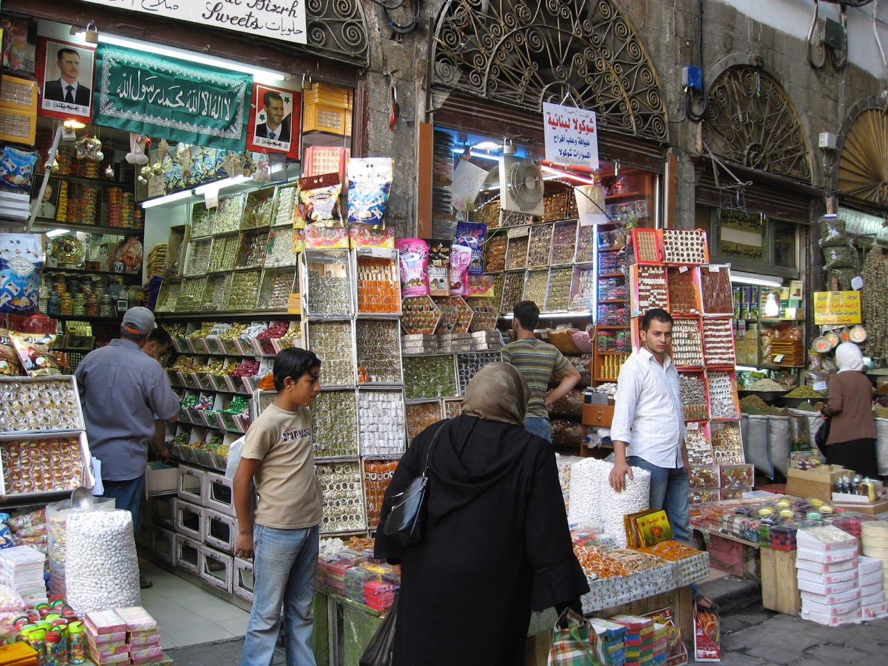 The souk in Aleppo, Syria, in 2007. Photo by Erica Gies.
